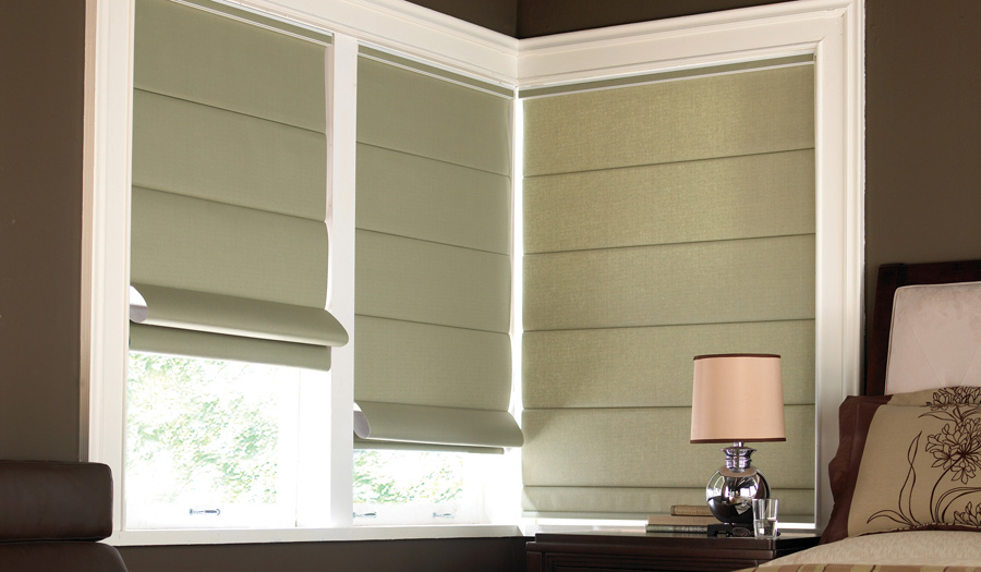 Professional Roman Blinds Rockbank