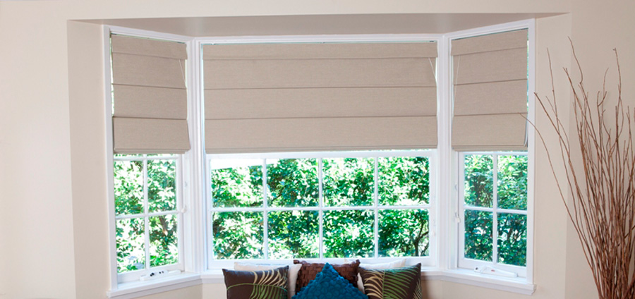 Roman Blinds Ashwood