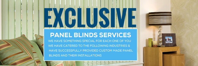 Panel Blinds Installations