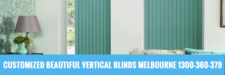 Customised Vertical Blinds Tally Ho