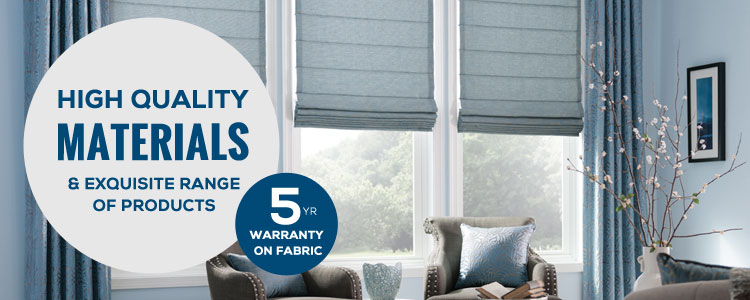 5 years warranty on fabric