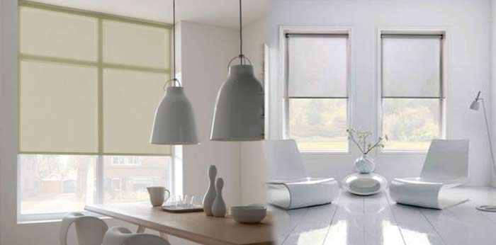 Roller Blinds Five Ways