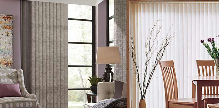 Vertical Blinds Five Ways