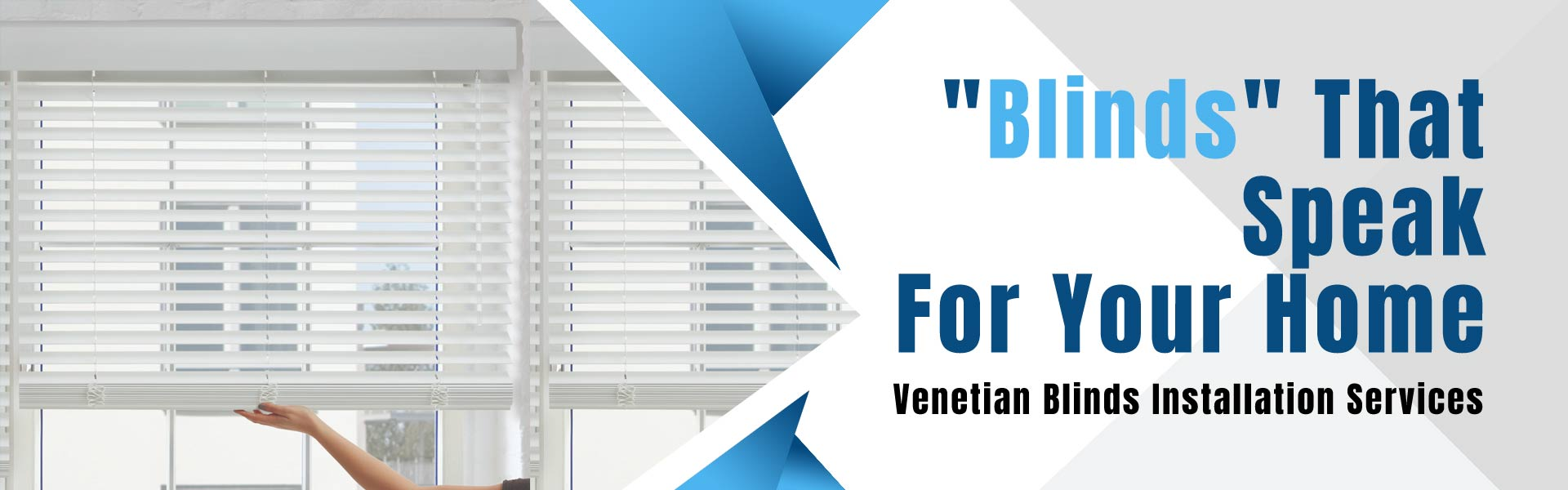 Venetian Blinds Installation Melbourne